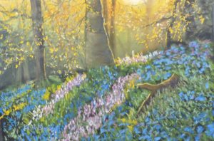 Pastel painting by Whitby artist Keith Blessed